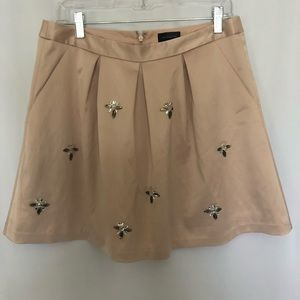 THE LIMITED Skirt With Embellishments